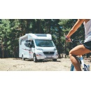 A fiat ducato base motorhome holiday in pursuit of sport
