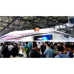 Huawei booths in Hall N1 at MWC19 Shanghai