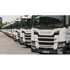 HAVI's alternative fuels partnership with Scania is making excellent progress in Germany
