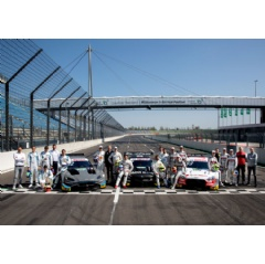 The DTM at the Lausitzring