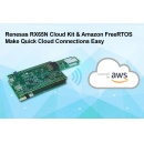 Renesas Electronics' Enhanced RX65N Wi-Fi Connectivity Cloud Kit Simplifies Secure IoT Endpoint Device Connections to Amazon Web Services