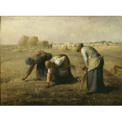 Jean-François Millet, 'The Gleaners', 1857, Oil on canvas, 83,5 x 110 cm, Musée d'Orsay, Paris