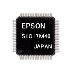 S1C17M40 (Package Type:TQFP12-48pin)