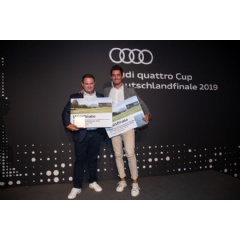 Lukas Meier and David Diehl from the Audi Centre Baden-Baden win the second final with 48 net points.
