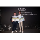 Audi quattro Cup: Teams from car dealership Stegelmann and from audi centre Baden-Baden triumph at the amateur golf tournament in Berlin