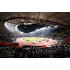 General view of the Khalifa International Stadium during the IAAF World Athletics Championships Doha 2019 (Getty Images) © Copyright