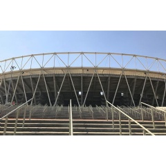 Walter P Moore serves as the structural engineer for Motera Cricket Stadium's fabric roof system