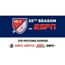 ESPN Kicks off Extensive Coverage of Major League Soccer's 25th Season with Sunday Doubleheader – Seattle Sounders vs. Chicago Fire and LAFC vs. Inter Miami CF