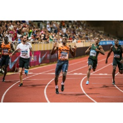 Noah Lyles wins the 200m at the IAAF Diamond League meeting in Monaco (Philippe Fitte) © Copyright
