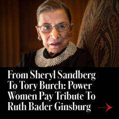 Forbes Pays Tribute To Ruth Bader Ginsburg Forbes