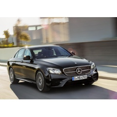 Mercedes-AMG E 43 4MATIC (W 213), Outdoor, 2016, exterior: obsidian black, interior: leather black