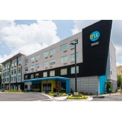 With more than 425 hotels in various stages of development, Tru by Hilton has achieved the fastest-growing pipeline in the history of the hospitality industry. Credit: Tru by Hilton.