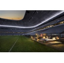 For the Audi Cup, Audi and Airbnb transform stadium into a home