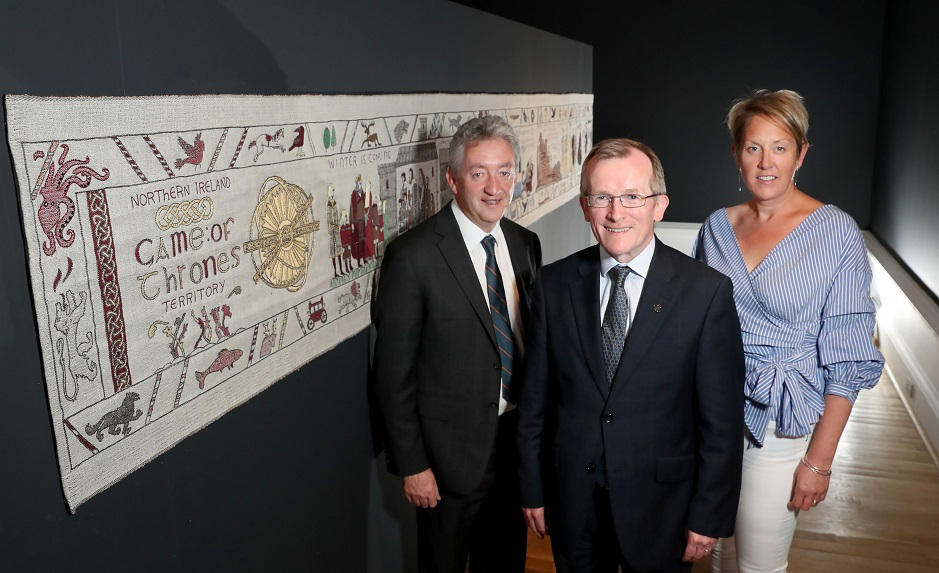 Giant 'Game of Thrones' tapestry unveiled as part of new tourism campaign