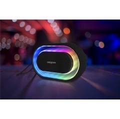 Creative Halo Portable Bluetooth Speaker with 16.8 Million Color Light Show