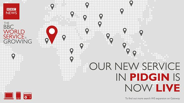 Broadcaster launches new digital service platform — BBC Pidgin