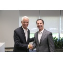 Congressman Charlie Crist Visits Harris Corporation for Space, Environment and Technology Discussions