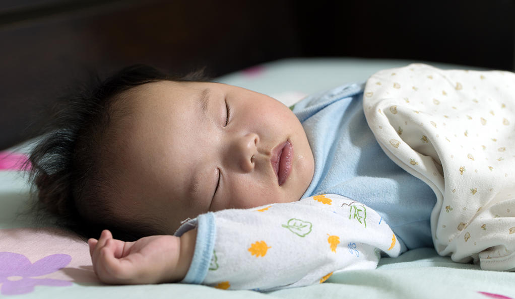 Majority of babies not sleeping safely