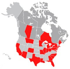 EMSL Analytical, Inc.'s North America Locations