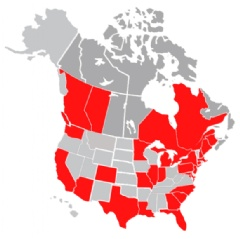 EMSL Analytical, Inc. Laboratory Locations