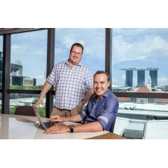 Business angels Michael Blakey (left) and William Klippgen (right) is launching a new venture firm for Southeast Asia and India to close the current pre-Series A gap in the region.